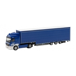 Model car 1:87 MB Actros, Meusburger-Sattelzug, THW...