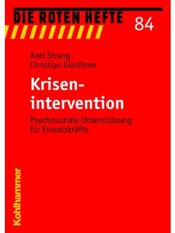 """Buch: Rotes Heft 84 """"Krisenintervention"""" - 135 S."""