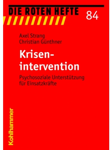 "Libro: rojo Heft 84 ""Krisenintervention"" - 135 S."