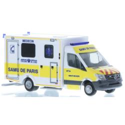Model car 1:87 MB Sprinter Wietmarscher Ambulanz, Samu de...