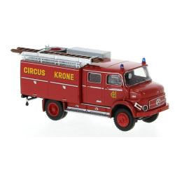 Model car 1:87 MB LAF 1113 TLF 16, Circus Krone, TD (1972)