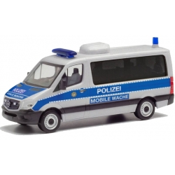 Modell 1:87 MB Sprinter 13 Mobile Wache, Polizei Berlin...