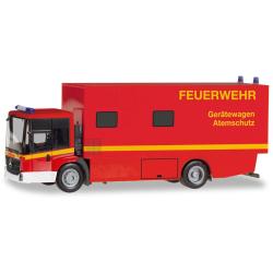 Model car 1:87 MB Econic Koffer-LKW, GW-Atemschutz