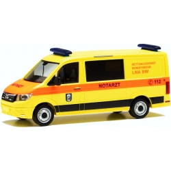 Model car 1:87 MAN TGE Flachdach, LNA, Bundeswehr Berlin...