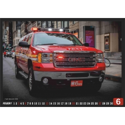 Kalender 2021 New York City Fire Dept. (9.Jahrgang) -...