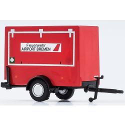 Modell 1:87 Anhänger Feuerwehr AIRPORT Bremen (BRE)
