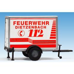 Modell 1:87 Anhänger Feuerwehr Dietzenbach (HES)