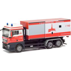 Model car 1:87 MAN TGX XLX, WLF with AB Umweltschutz, BF...