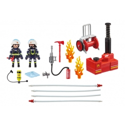 playmobil® CITY ACTION zwei Feuerwehrmänner with...