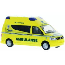 Model car 1:87 VW T5, Ambulanse (N)
