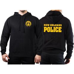 Hoodie negro, New Orleans Police Dept.