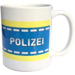 Tasse POLIZEI (1 Stück)