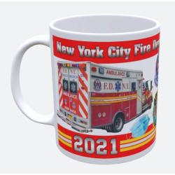 Tasse New York City Fire Department 2021 - limitiert (1...