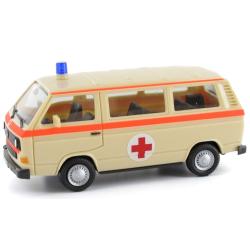 Model car 1:87 VW T3, MTW, DRK-Bus (SonderModel car...