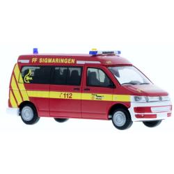 Model car 1:87 VW T5 ´10, ELW 1/11, FF Sigmaringen...