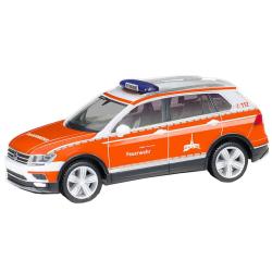 Model car 1:87 VW Tiguan, KdoW/RD, BF Kassel (HES)