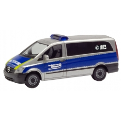 Model car 1:87 MB Vito Bus, THW Dillenburg (HES)