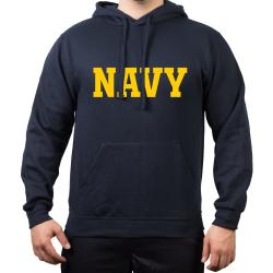 Hoodie blu navy