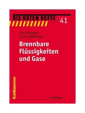 "Livre: rouge Heft 41 ""Brennbare Flüssigkeitdans et Gase"""