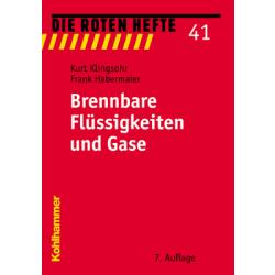 """Book: red Heft 41 """"Brennbare Flüssigkeiten and..."""