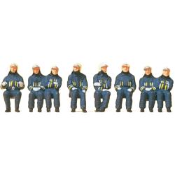 Equipment 1:87 Feuerwehrmänner in moderner...