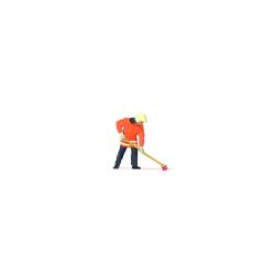 Equipment 1:87 Feuerwehrmann kehrend
