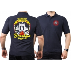 Polo navy, New York City Fire Dept. Brooklyn Bridge...