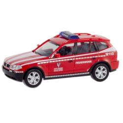 Model car 1:87 BMW X3 (E83), KdoW, FF Straubing (BAY)...