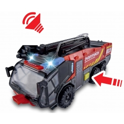 Model car Rosenbauer Panther 6x6 FLF with Funktion (25 cm...