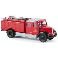 Model car 1:87 Magirus Mercur TLF 16 red/black...