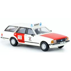 Model car 1:87 Ford Granada II Turnier, NEF, BF Wuppertal...