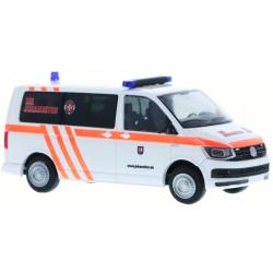 Modell 1:87 VW T6, Blut- und Organtransporte, JUH...