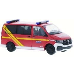 Model car 1:87 VW T6, ELW 1/11, FF Wolfach (BaWü)