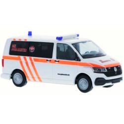Modell 1:87 VW T6.1, Blut- und Organtransport, JUH...