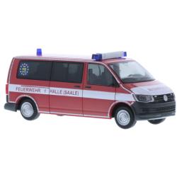 Model car 1:87 VW T6, ELW 1, Fl. Halle 01/12-01, BF...