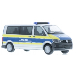Model car 1:87 VW T6, Polizei Mecklenburg-Vorpommern