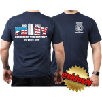 T-shirt navy, 2001-2021 REMEMBER THE BRAVEST 20 years