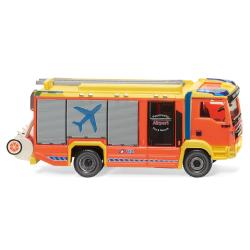 Modell 1:87 MAN TGM Euro 6/Rosenbauer, LF Airport Fire $...
