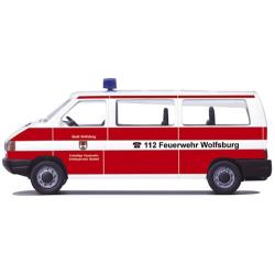 Modell 1:87 VW T4, MTW, FF Wolfsburg (NDS)