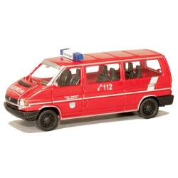 Modell 1:87 VW T4, MTW, FF Bischofsheim (HES)
