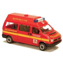 Modell 1:87 VW T4 HD, MTW, FF Stadt Hohen Neuendorf, LZ...