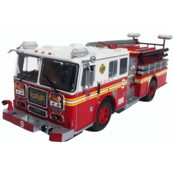 Modell 1:43 Seagrave Engine 9, Chinatown, Manhattan,...