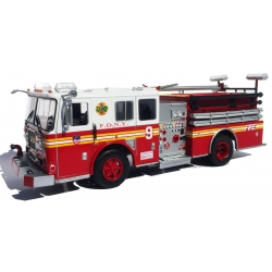 Modell 1:43 Seagrave Engine 9, Chinatown, Manhattan,...