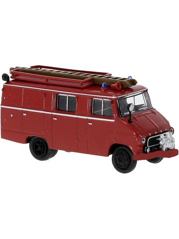 Modell 1:87 Opel Blitz LF 8, 1,9 t (1960-65) rot mit roter Stoßstange