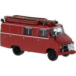 Modell 1:87 Opel Blitz LF 8, 1,9 t (1960-65) rot mit...