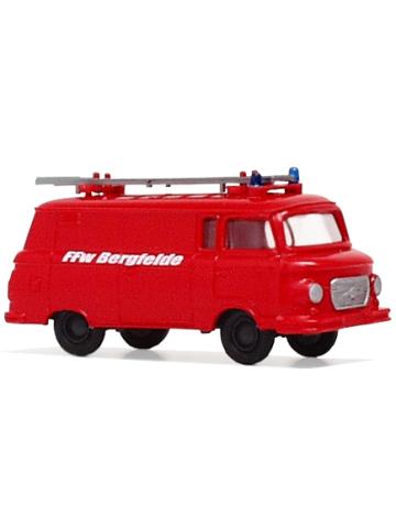 Modell 1:87 Barkas 1000, KLF-TS-8, FF Bergfelde (BB)