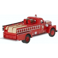 Modell 1:87 Seagrave 750 Fire Engine in rot (1958) (USA)