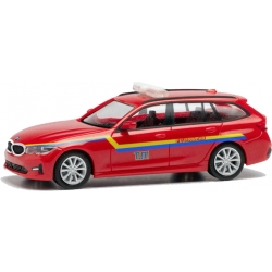 Modell 1:87 BMW 3er Touring, KdoW, TU München (BAY)