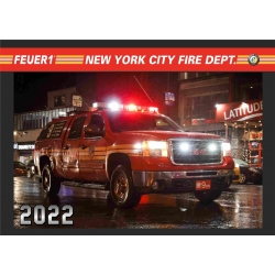 Kalender 2022 New York City Fire Dept. (10.Jahrgang) -...