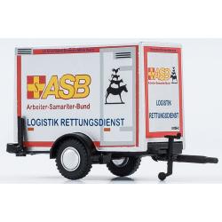 Modell 1:87 Anhänger, ASB Logistik RD, ASB Bremen (BRE)